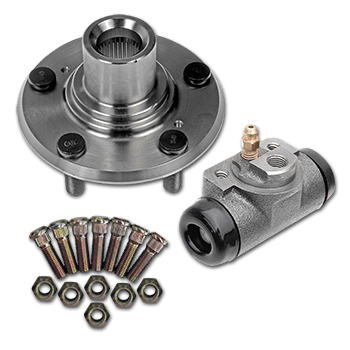 Wheel Nuts & Wheel Hubs Combined